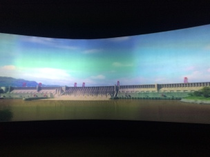 Flyover of the Three Gorges Reservoir in 3D