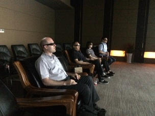 Watching a promotional video of CISPDR in 3D